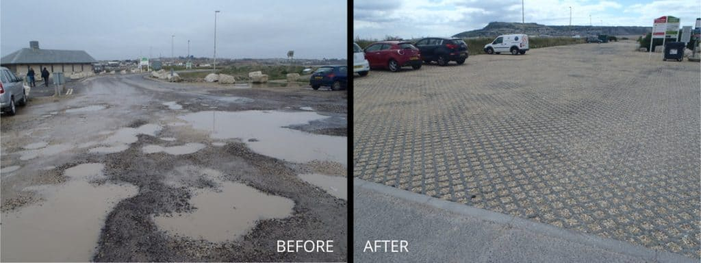 Chesil Beach - Before & After